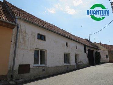 Prodej domu 2+kk, 60 m² se zahrádkou v obci Moravské Málkovice