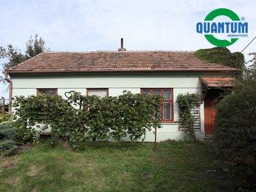 Prodej domu 2+1 se zahradou 2 156 m² v obci Němčany
