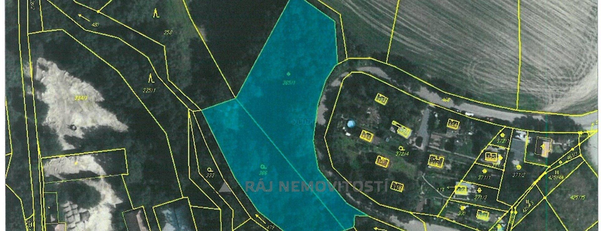 Mapa Voděrádky