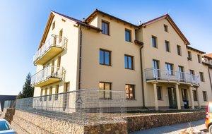 Byt 4+kk se dvěma bakony, 92m² - Únětice, Praha Západ