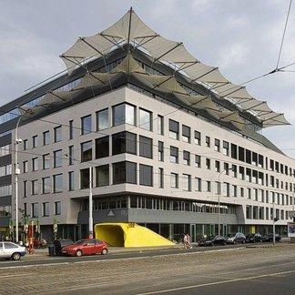 Pronájem kanceláře 1 118 m², terasa 259 m², Praha 5 - Smíchov, Factory Office Center