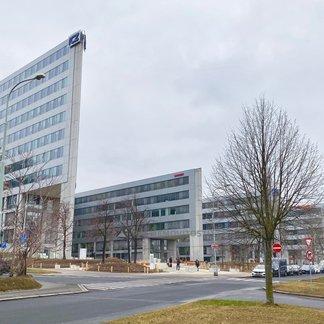 Pronájem kanceláře, 837m² - Praha - Nusle, Kavčí Hory Office Park
