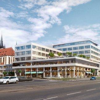 Pronájem kanceláře 898 m² - Praha 7, Bubenská 1
