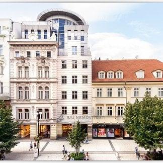 Pronájem kanceláře 70m², terasa 1,6 m², Praha 1 - NP 9/11