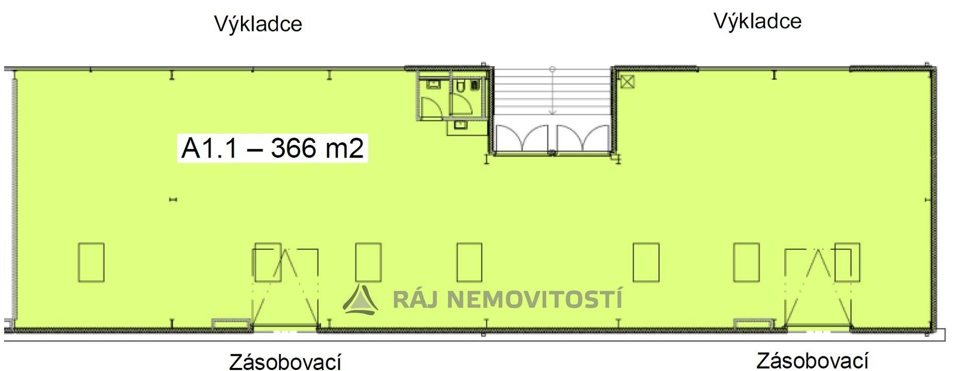 půdorys 366 m2