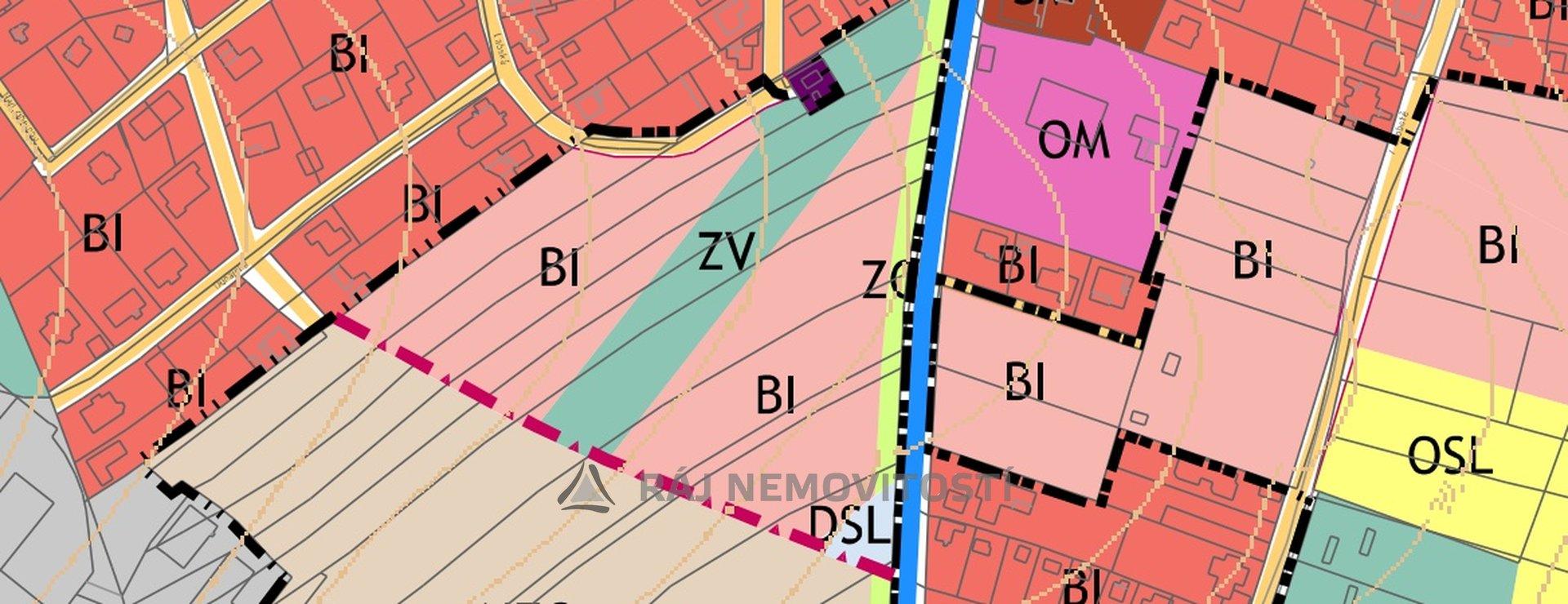 Oáza územní plán