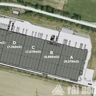 Pronájem, Sklady, 4165m² - Divišov - Měchnov