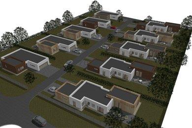Prodej rodinných domů na nové ulici v Tišnově, Ev.č.: 00104