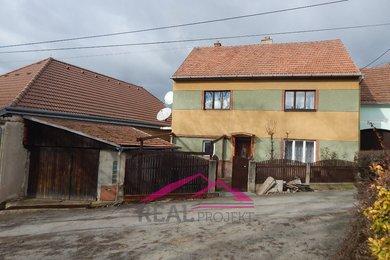 Prodej dvoupodlažního rodinného domu, Heroltice u Tišnova, Ev.č.: 00159