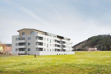 Prodej posledních volných bytů Tišnov - Novostavba 3+1, 91 m2 s balkonem, Ev.č.: 00040