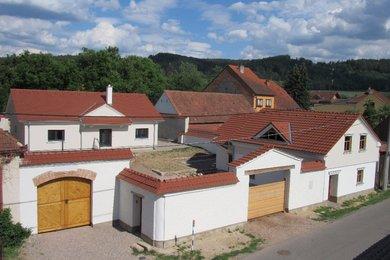 Bývalý selský statek s novostavbou RD Šerkovice, CP 904 m2, Ev.č.: 00055