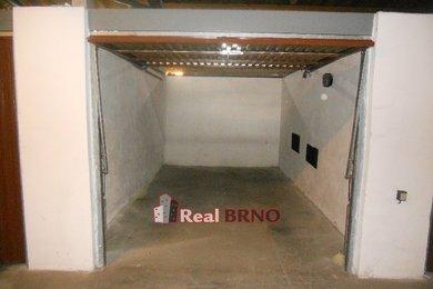 Pronájem, garáž, 18m² Brno-Bystrc, Ev.č.: Hon 1820