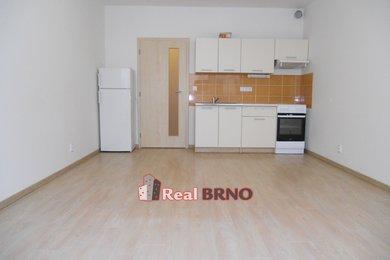 Pronájem, Byty 1+kk, 29m² - s garáží a terasou Brno-Bystrc, Ev.č.: Hon 2001