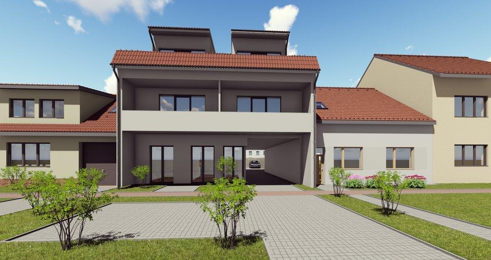 Bytový dům - Újezd u Brna