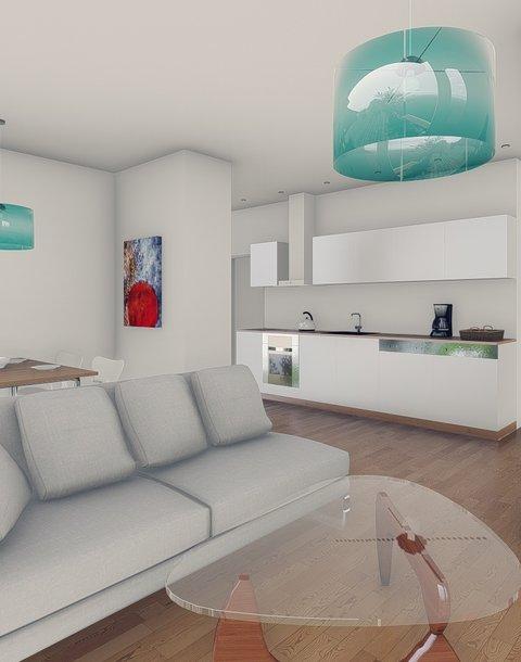 Podkrovní byt 3+kk s terasou - Troubsko
