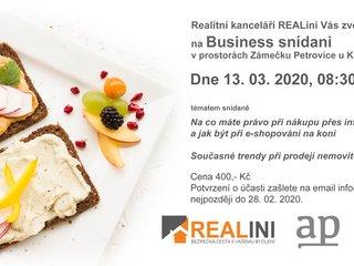 Business snídaně 13.3.2020