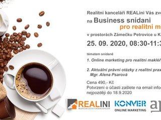 Business snídaně 25.9.2020