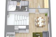Dům Zázmolí 3D 2. podlaží