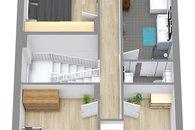Dům Zázmolí 3D 3. podlaží