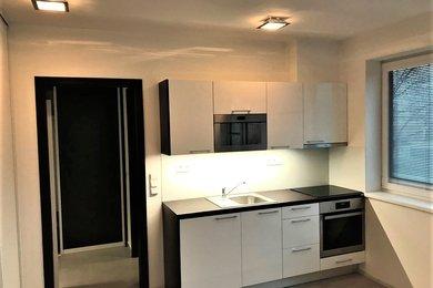 Pronájem Brno-Královo Pole, nový byt 1+kk s garáž. stáním ul. Kollárova, Ev.č.: 98536-2