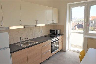 Pronájem bytu Brno-Královo Pole (Ponava), byt 1+1 Chaloupeckého náměstí, Ev.č.: 100334