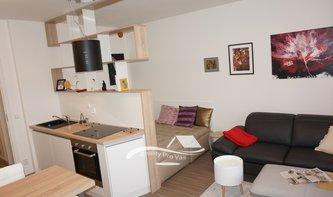 Byt k pronájmu Brno-Černovice, novostavba bytu 1+kk ul. Řehořova