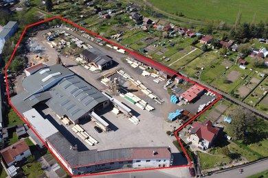 Prodej, Výroba, 3000m² - Chabařovice