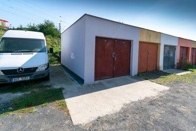 Prodej, Garáže, 20m² - Ústí nad Labem - Střekov