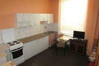 Kuchyňka v jednolůžkovém pokoji