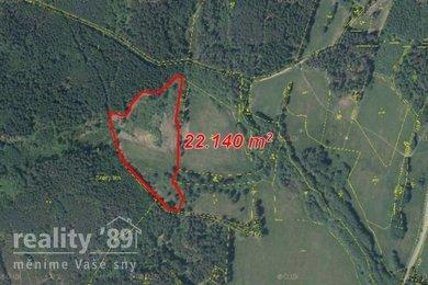 Prodej, Zemědělská půda, 31638m² - Cvikov, Ev.č.: 00269