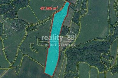 Prodej, Zemědělská půda, 60854m² - Řehlovice, Ev.č.: 00285
