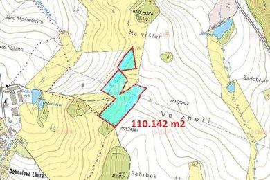 Prodej, Zemědělská půda, 43542m² - Kosova Hora, Ev.č.: 00293