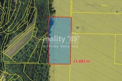Prodej, Zemědělská půda, 15885m² - Močovice, Ev.č.: 00311