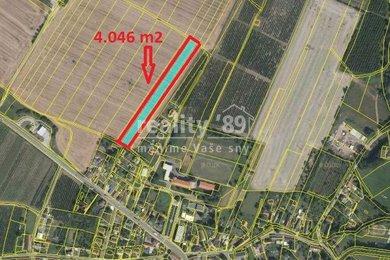 Prodej, Zemědělská půda, 6786m² - Ostroměř, Ev.č.: 00300-1