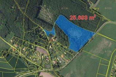 Prodej, Lesy, 25693m² - Stříbrná Skalice - Hradec, Ev.č.: 00305-2