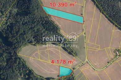 Prodej, Zemědělská půda, 14568m² - Jeřišno, Ev.č.: 00316