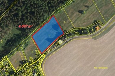 Prodej, Pozemky - trvalý travní porost, 4097m² - Černíny, Ev.č.: 00335