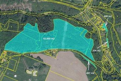Prodej, Pozemky - trvalý travní porost, 51660m² - Dubá - Nedamov, Ev.č.: 00341