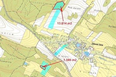 Prodej, Lesy, 15194m² - Chotilsko - Záborná Lhota, Ev.č.: 00353
