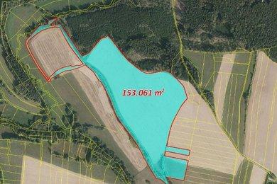 Prodej, Zemědělská půda, 153719m² - Psárov - Tříklasovice, Ev.č.: 00354