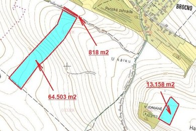 Prodej, Zemědělská půda, 78479m² - Štětí - Brocno, Ev.č.: 00371
