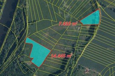 Prodej, Zemědělská půda, 21877m² - Tišice - Kozly, Ev.č.: 00373