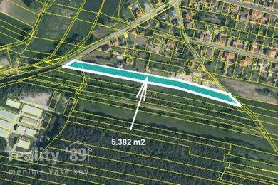 Prodej, Pozemky pro bydlení, 5382m² - Lužná, Ev.č.: 00390