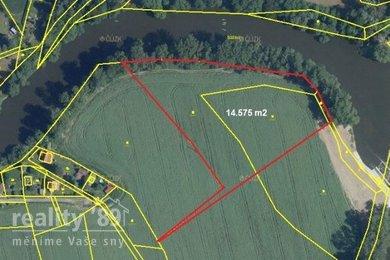 Prodej, Pozemky - trvalý travní porost, 14575m² - Poříčí nad Sázavou, Ev.č.: 00395