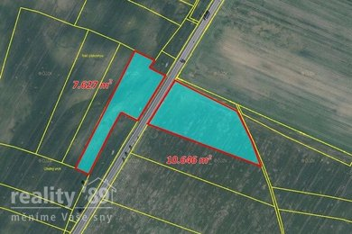 Prodej, Zemědělská půda, 33000m² - Velemyšleves, Ev.č.: 00398