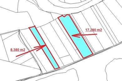 Prodej, Ostatní pozemky, 25670m² - Praha - Lipence, Ev.č.: 00399