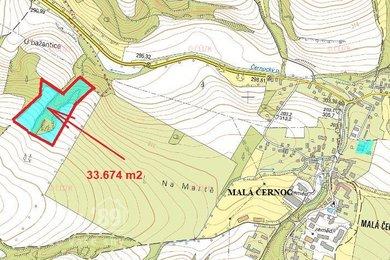 Prodej, Lesy, 33674m² - Blšany - Malá Černoc, Ev.č.: 00389-1