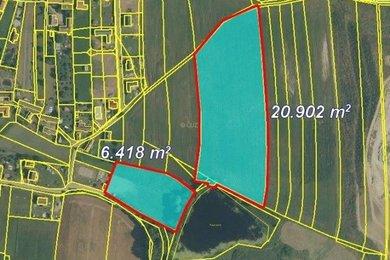 Prodej, Zemědělská půda, 53458 m², Ev.č.: 00084