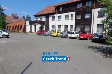 Prodej, areál s ubytováním, 1932 m², kuchyní/jídelnou a vlastní pilou, 319 m2 - Potštát, Ev.č.: 01074