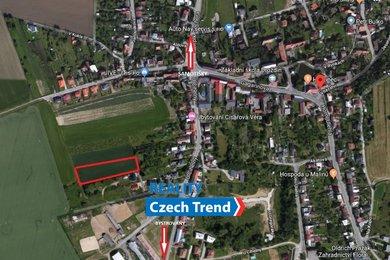 Prodej, Pozemky pro bydlení, 6193m² - Olomouc - Droždín, Ev.č.: 01372